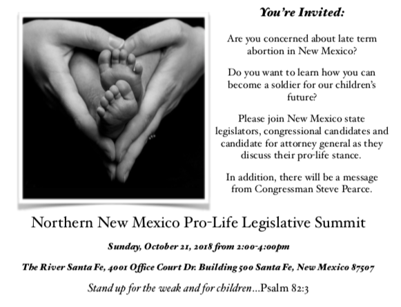 Northern New Mexico Pro-Life Summit