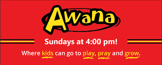 Awana Begins!